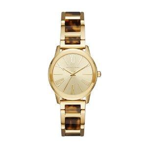 Gold Women's Hartman Two-tone Watch Mk3711